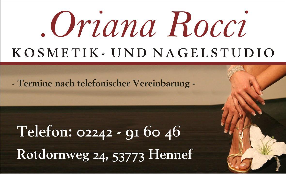 Kosmetik- und Nagelstudio Oriana Rocci in Hennef